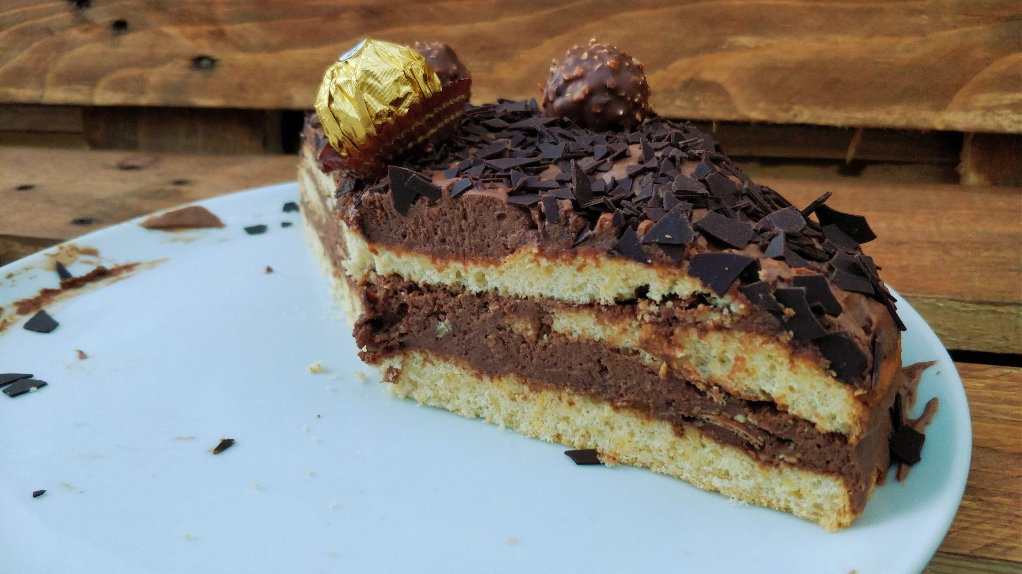 Ferrero Rocher Torte Mit Nussbiskuit Was Gibts Zum Essen