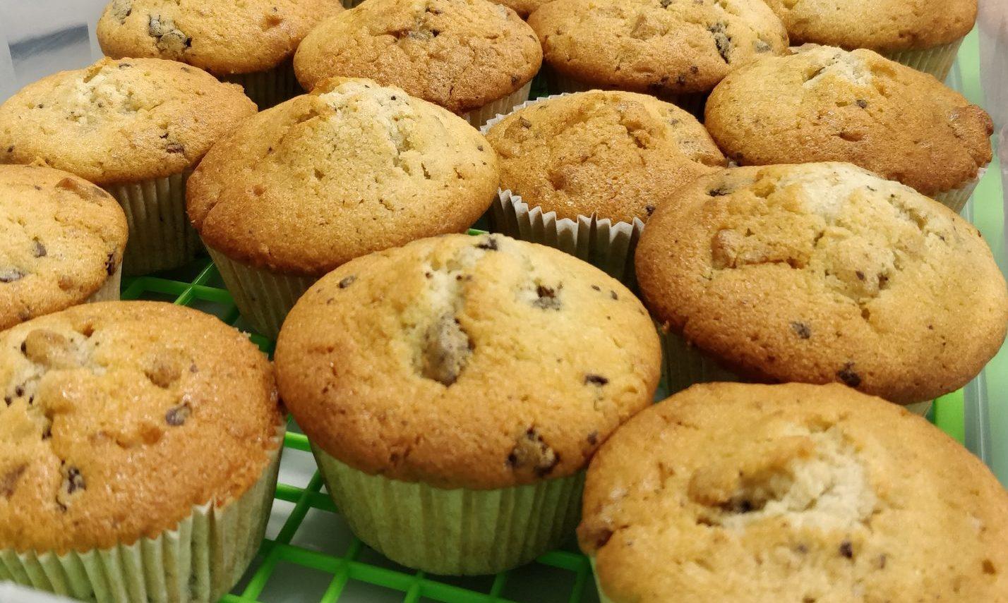 Zartbitter Walnuss Cupcakes