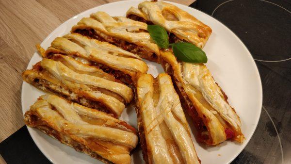 lasagne fertig