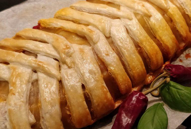 Lasagne im Blätterteigmantel